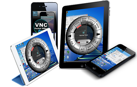 VNC Pocket office pro universal